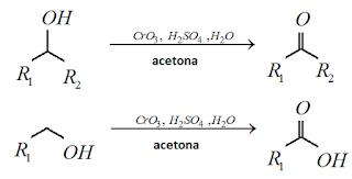 reagente jones alcool