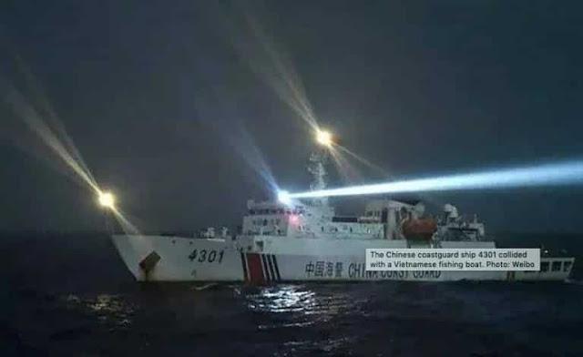 Bộ QP Mỹ: TQ đâm chìm tàu Việt Nam, đi ngược tầm nhìn của Mỹ