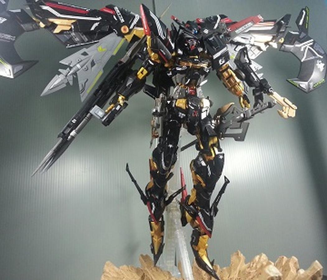 Custom Build: MG 1/100 Gundam Astray Gold Frame Amatsu Mina - Gundam ...