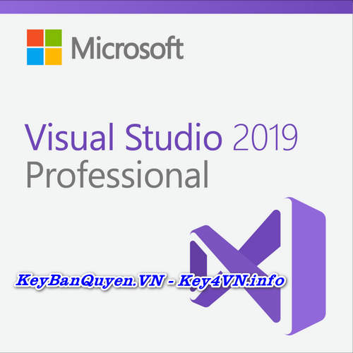 Mua bán key Visual Sutido Pro và Enterprise 2019 bản quyền.