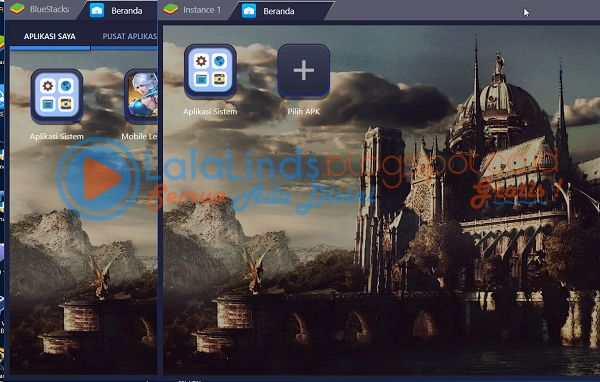 Cara Membuat Dual Bluestacks / Instance Bluestacks 3