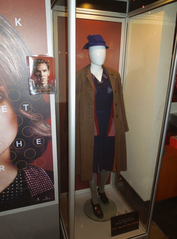 Keira Knightley Imitation Game movie costume