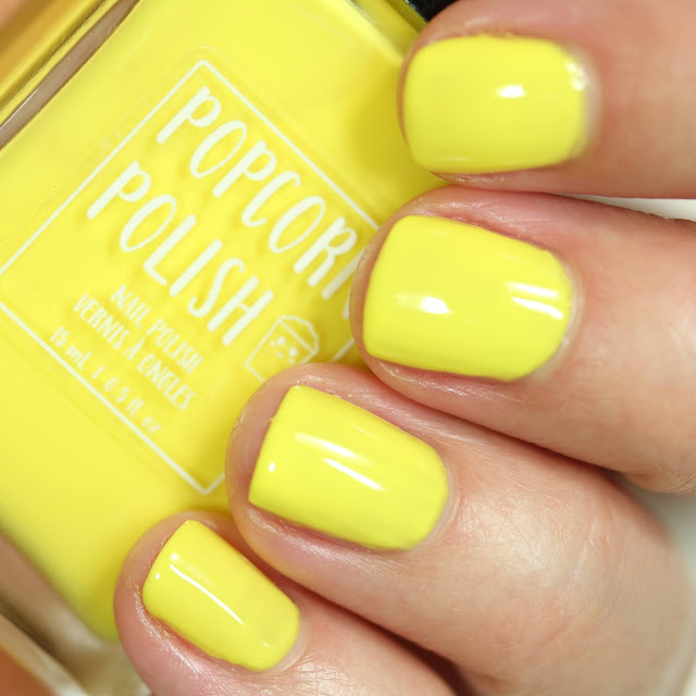 Popcorn Polish It's Better With Butter swatch
