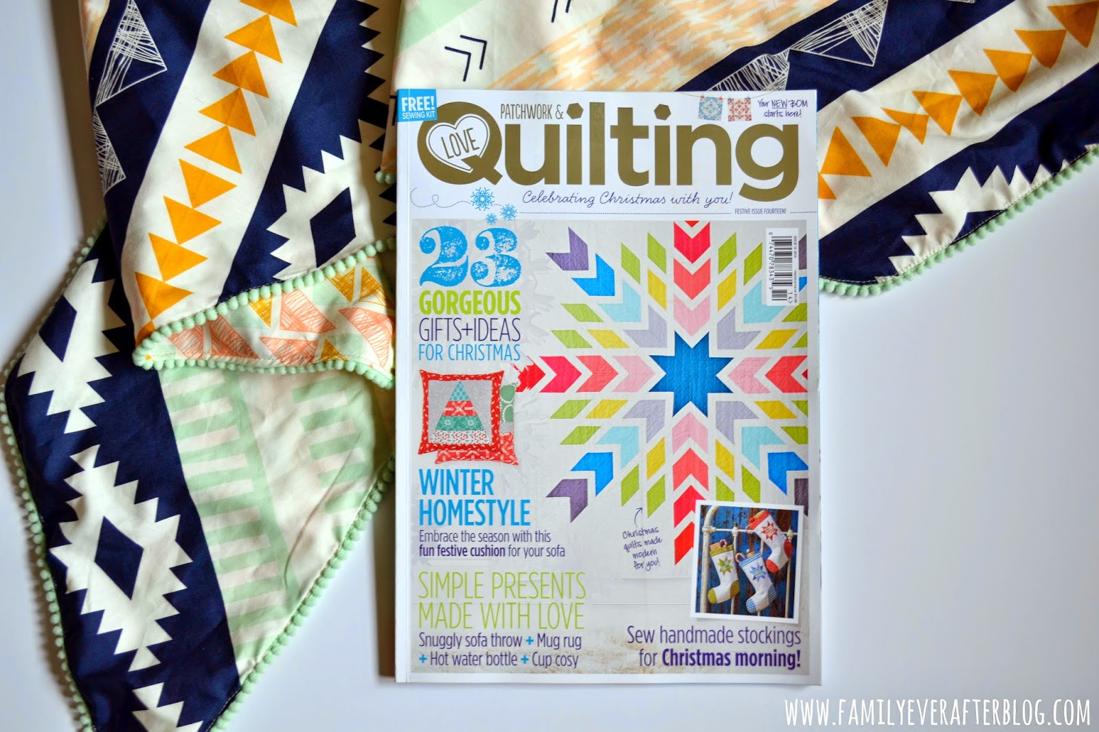 "Featured in ""Love Patchwork and Quilting"" Issue 14"