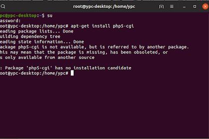 Cara Mengatasi Tidak Bisa Install php5-cgi Linux Ubuntu