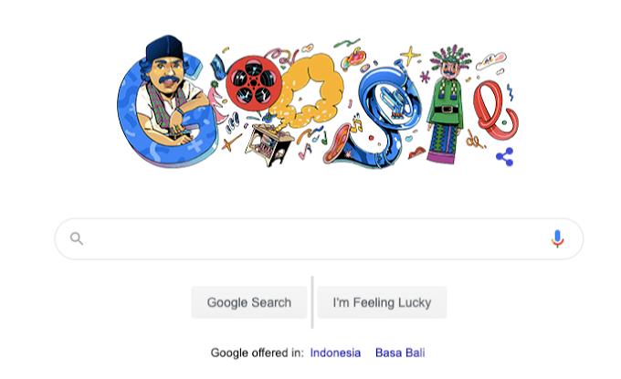 Benyamin Sueb Jadi Google Doodle Hari Ini !