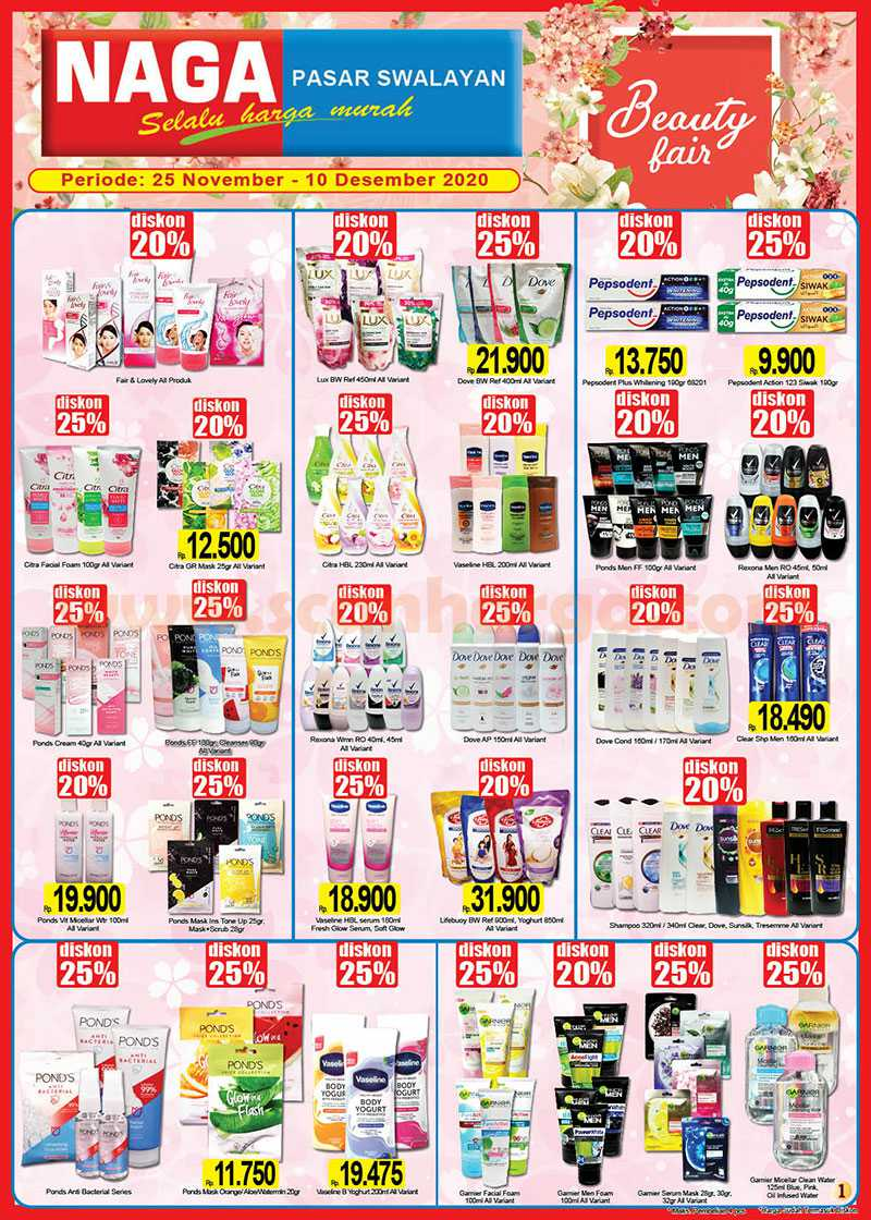 Katalog Promo Naga Pasar Swalayan 25 November - 10 Desember 2020 1