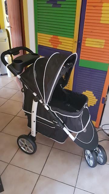InnoPet Monaco Pet Stroller Hundetrolley für unseren Bronco