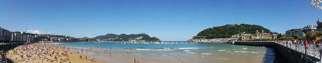 Donostia, a peu de platja