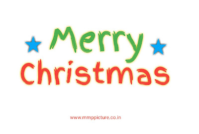 Transparent Christmas Text PNG Stylish Font