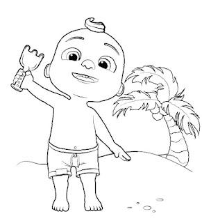 קוקומלון דפי צביעה לילדים בגיל הרך