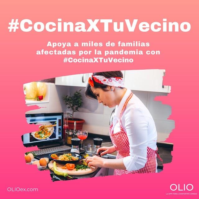 INVITAN A COCINAR A MILES DE MEXICANOS  Y ALIMENTAR FAMILIAS QUE LO NECESITAN