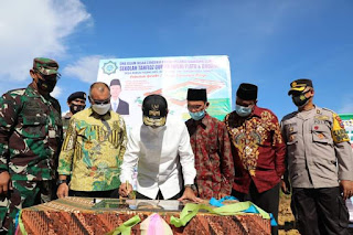 Wagub Sumut Resmikan Pembangunan Gedung SMA Islam Insan Cendikia Tahfidz Qur'an