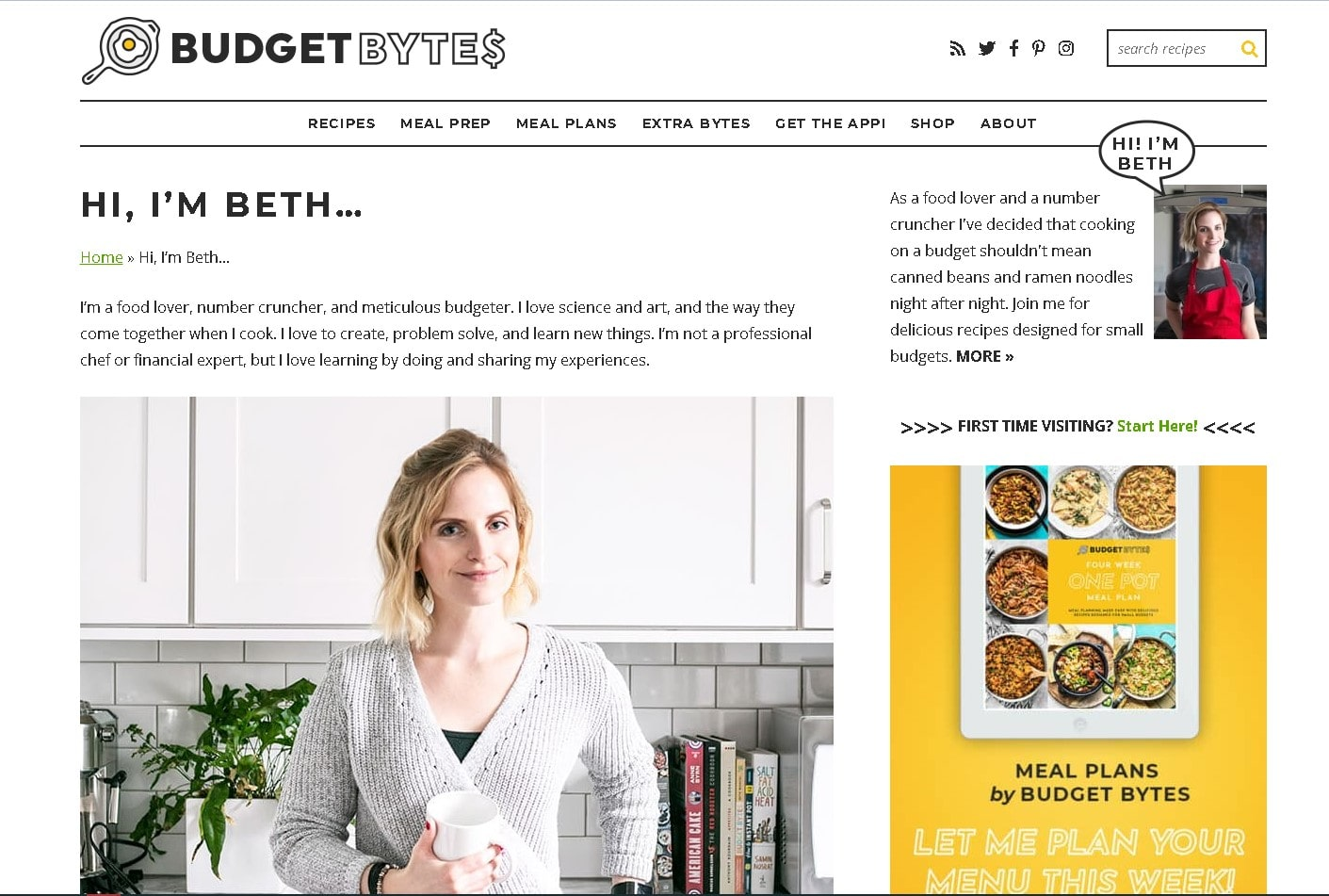 sajt-budgetbytes-primer-stranicza-o-nas-dlya-kulinarnogo-bloga