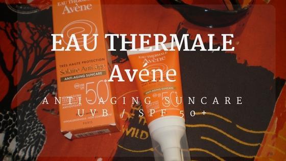 Header Avene anti-aging suncare