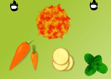 Receita Termogênica: Suco de Cenoura com Gengibre e Hortelã