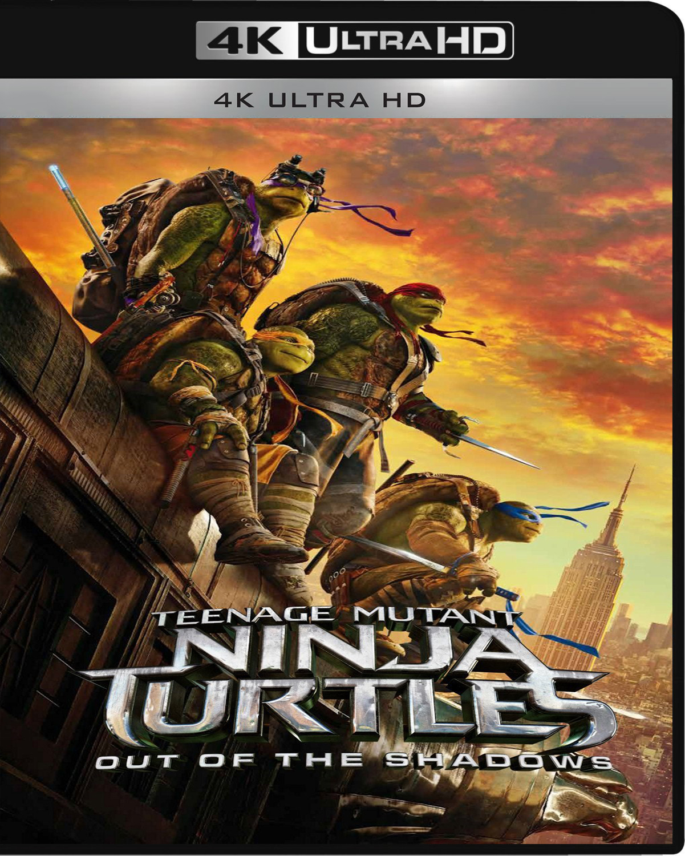 Teenage Mutant Ninja Turtles: Out of the Shadows [2016] [UHD] [2160p] [Latino]