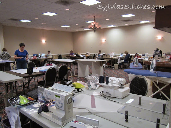Sewing Guild Retreat 2014