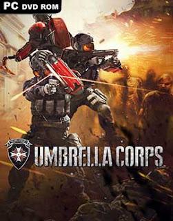 غلاف لعبة الحرب ولقتل ضد زومبي الموتى Umbrella Corps