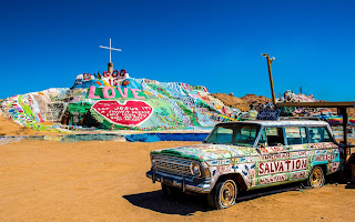 Salvation Mountain en Slab City