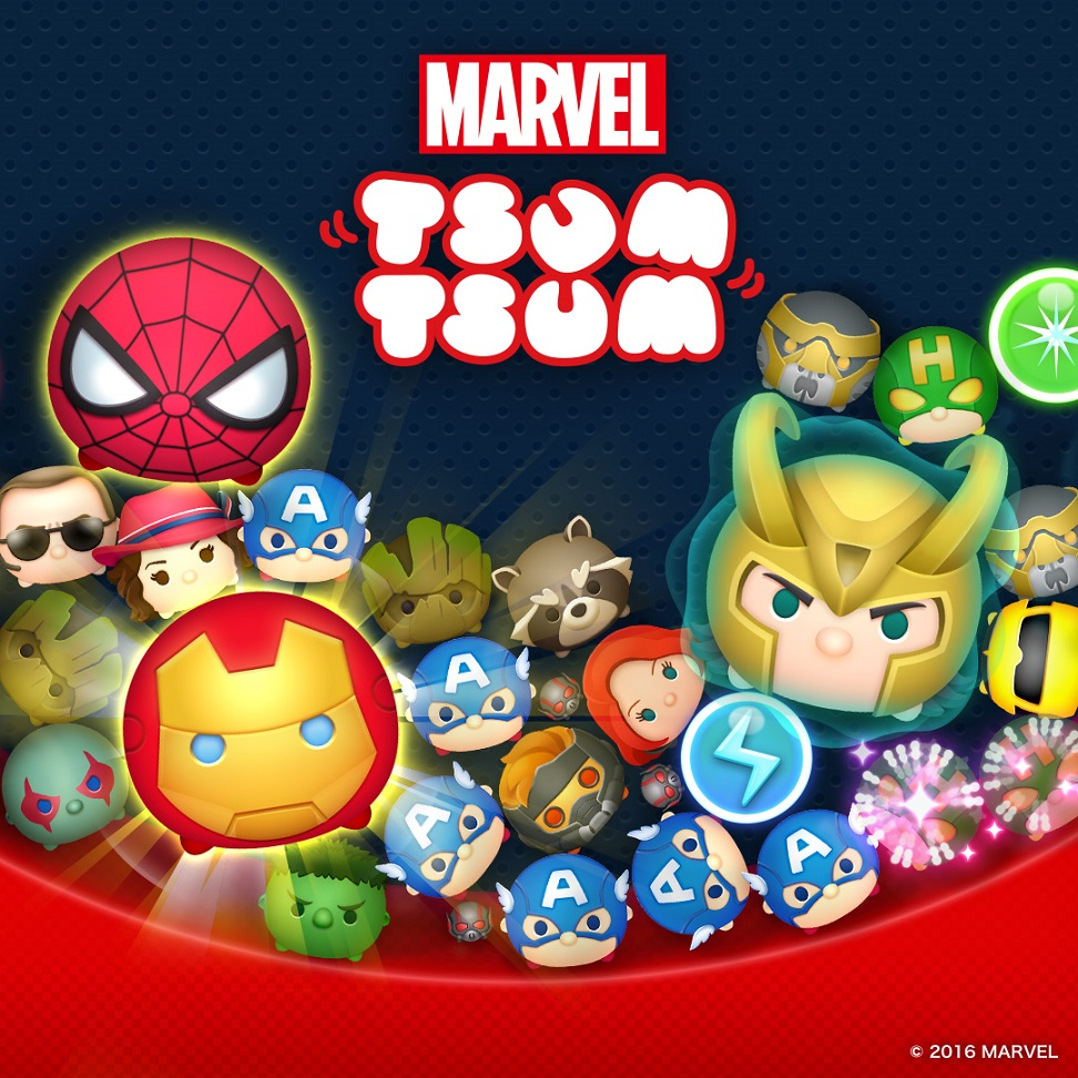 MARVEL Tsum Tsum Mobile Game Now Available Globally on iOS ...