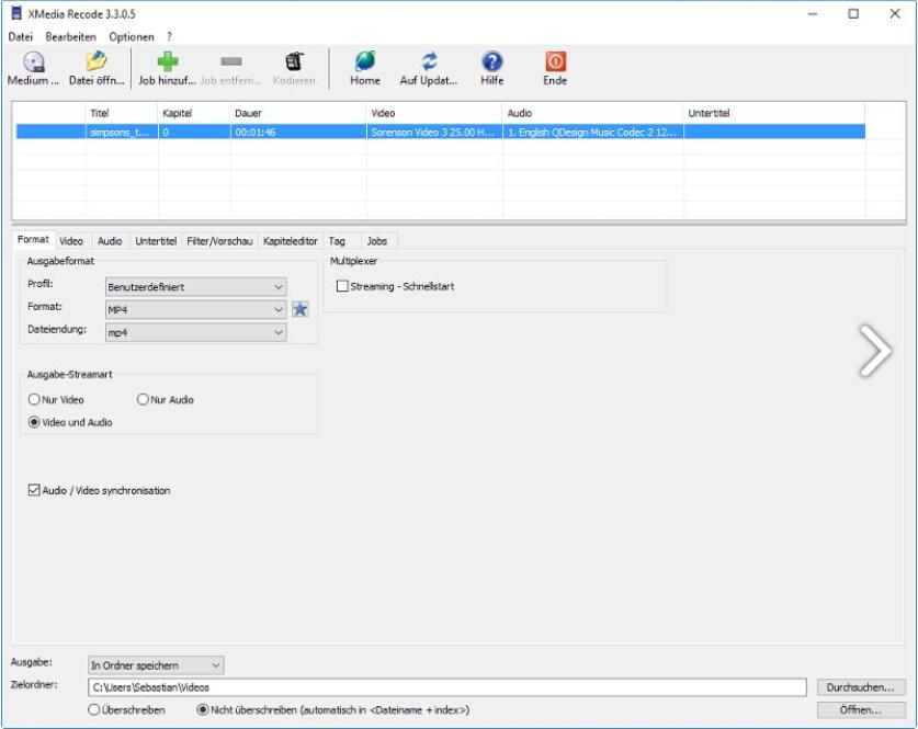 تحميل برنامج XMedia Recode 2019 لتحويل جميع صيغ الفيديو والصوت للكمبيوتر