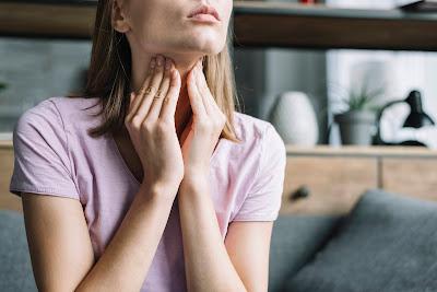 Mujer con infección
