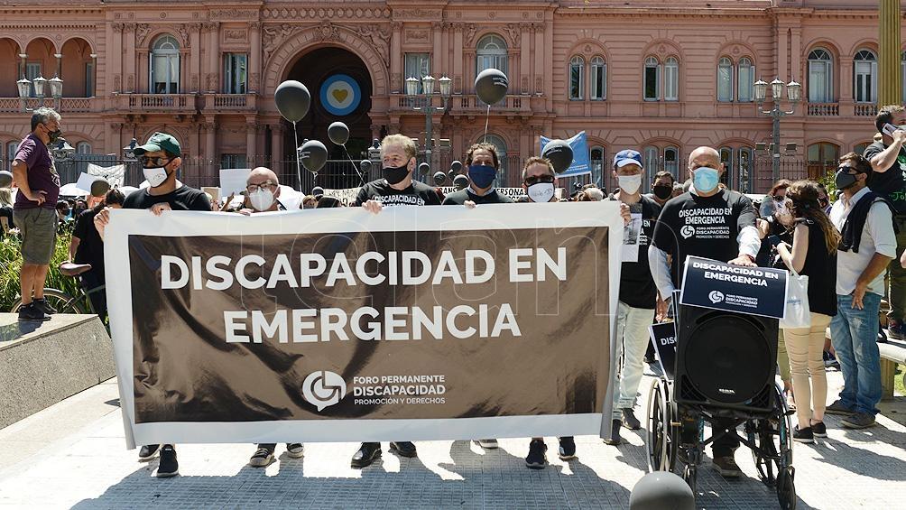 La crisis de las instituciones de discapacidad.