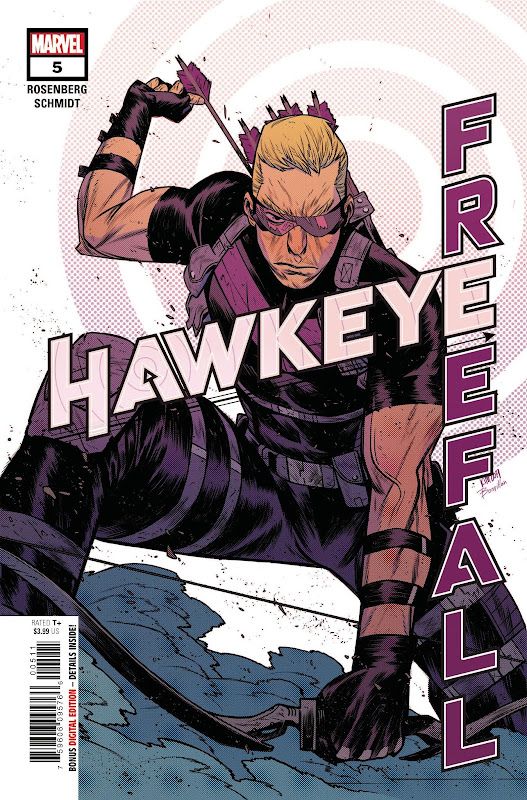 Cover of Hawkeye Freefall #5