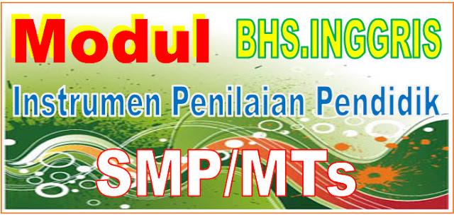 INSTRUMEN PENILAIAN BAHASA INGGRIS SMP/MTs