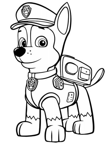 Paw patrol coloring pages 45
