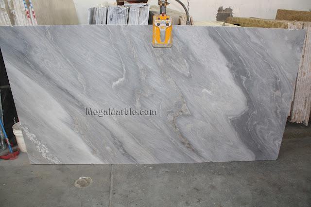 Palissandro Bluette marble slabs