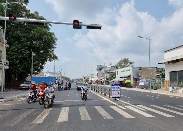 Cần Thơ: công trình đường Trần Hoàng Na được thông xe