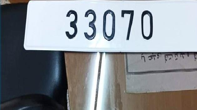 سوسة: القبض على شاب يقود سيارة تحمل اللوحة المنجمية 33070... ما قصتها