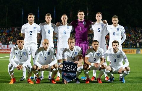 Đội hình ra sân của Anh gồm những gương mặt quen thuộc