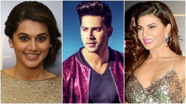 Varun Dhawan will be romancing Jacqueline Fernandez and Taapsee Pannu in 'Judwaa 2'.