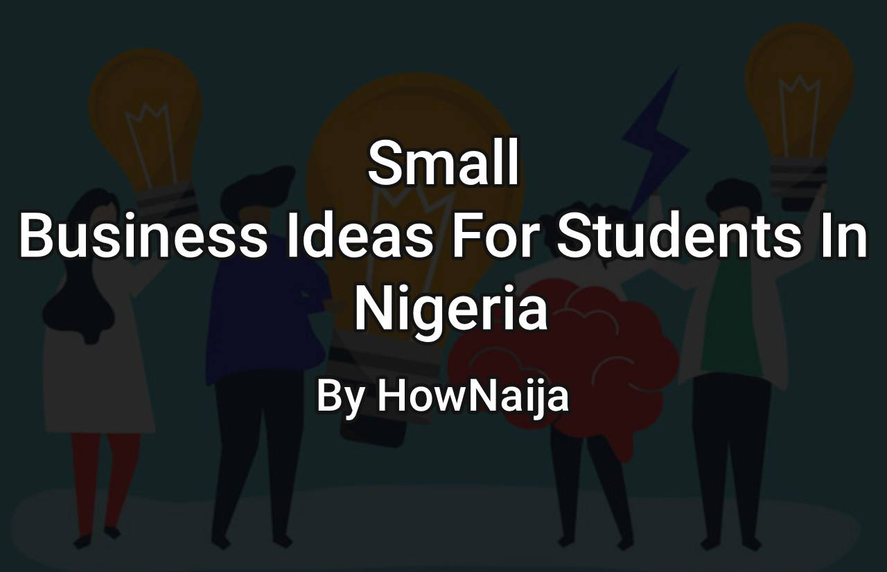 Small Business Ideas For Students In Nigeria