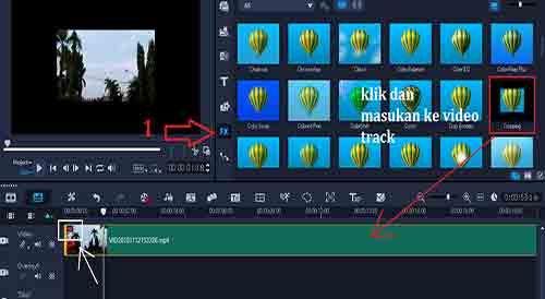 Cara Editing Video Cinematic di Corel Video Studio