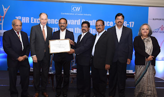 Amara Raja conferred with 'Significant Achievement in HR Excellence' Award