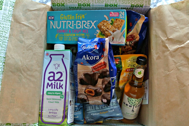 Degustabox December 2016 January 2017 Box with Discount Code Image
