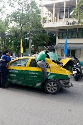 バンコクの交通事故