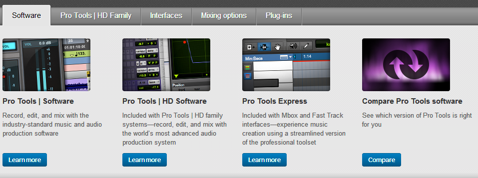 Best Audio editing software - AVID