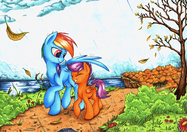 my little pony mlp rainbow dash scootaloo nightly discussion