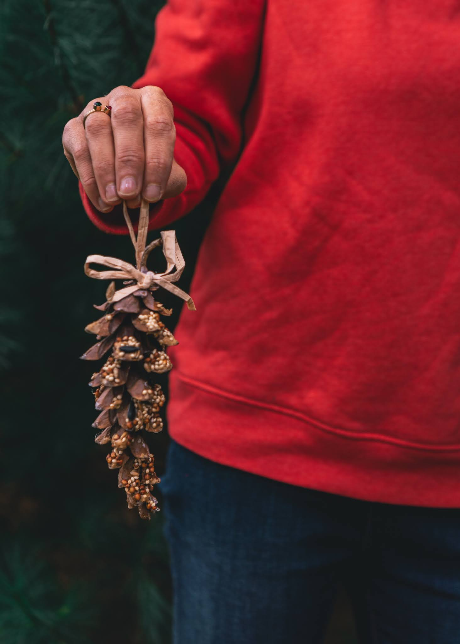 the best nature crafts to celebrate the winter solstice