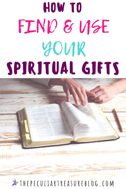 How to find and use your spiritual gifts.