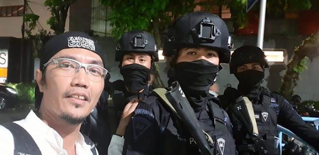 Bareskrim Tangkap Penyebar Hoax 'Polisi China' di 22 Mei