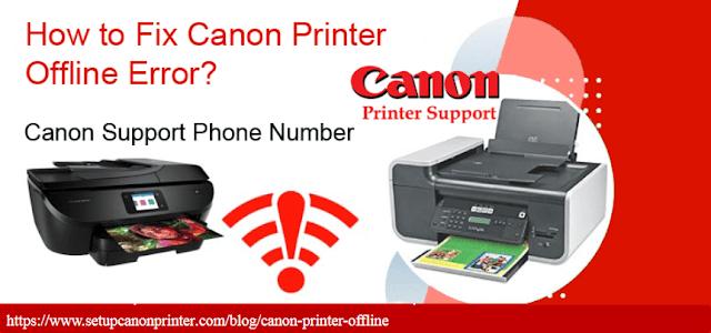 Solved Canon Printer Offline 1855-888-8325 Make It Online