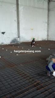 Jasa trowel lantai beton cor floor hardener pengecoran gudang