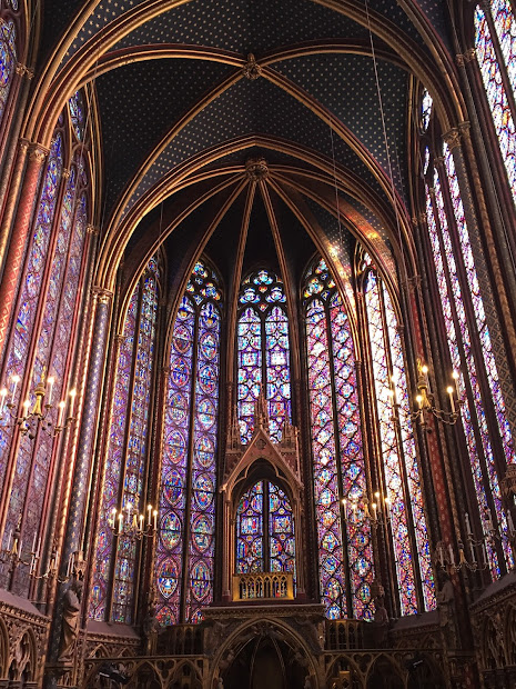 Virginia' Life La Sainte-chapelle Glory Of Paris Europe #18
