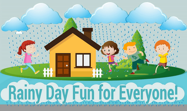 Rainy Day Activities For Your Kids